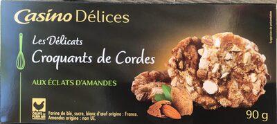 Croquant de Cordes aux Éclats d'Amandes - Produit - fr