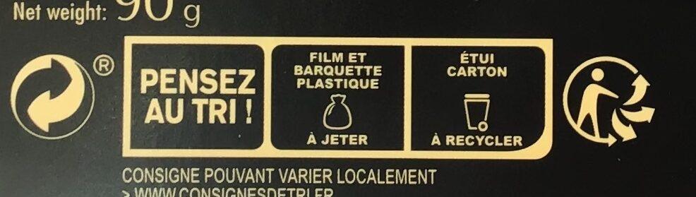 Croquant de Cordes aux Éclats d'Amandes - Instruction de recyclage et/ou informations d'emballage - fr