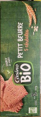 Petit beurre 5 céréales Bio - Product