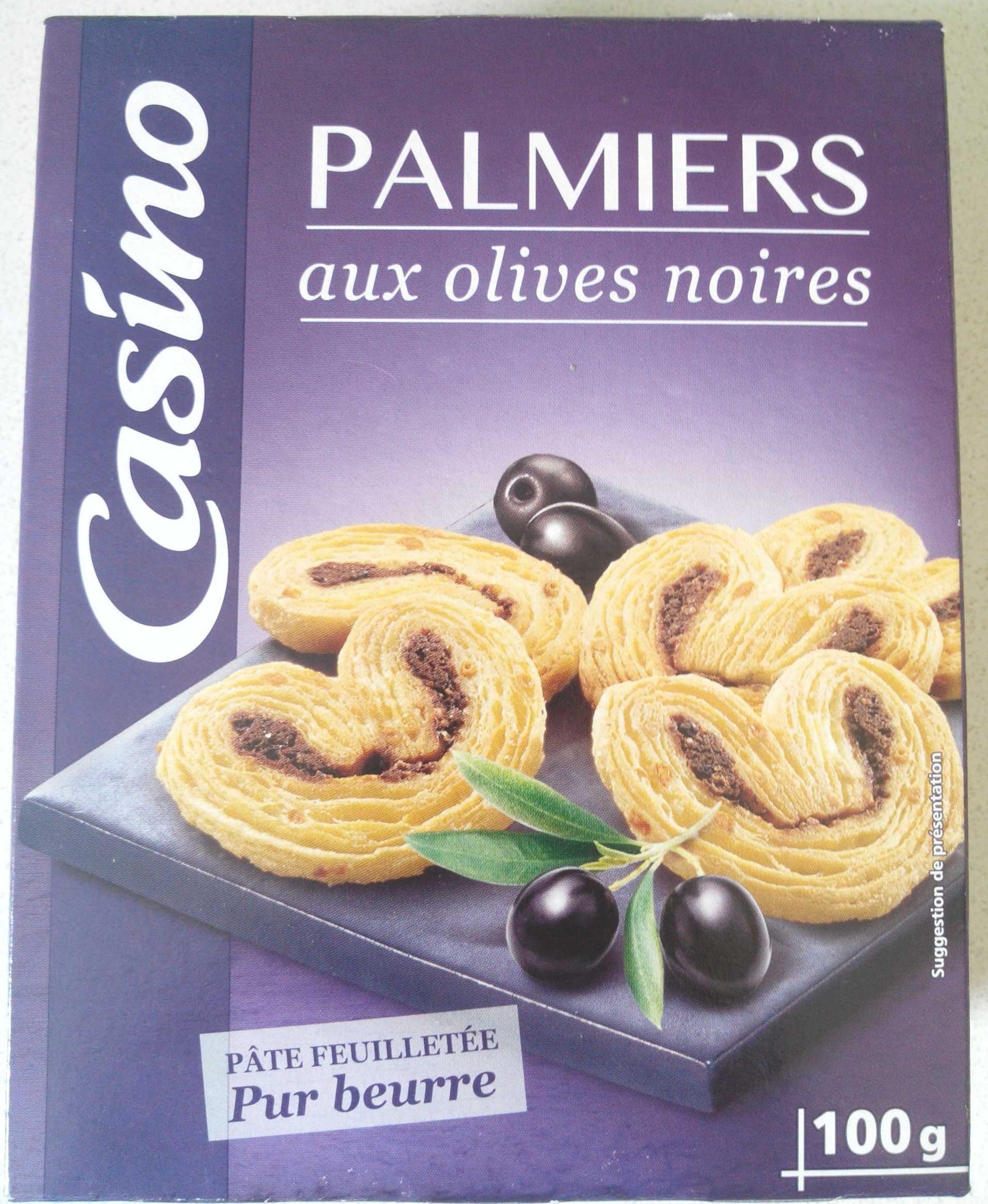 Palmiers aux olives noires - Product