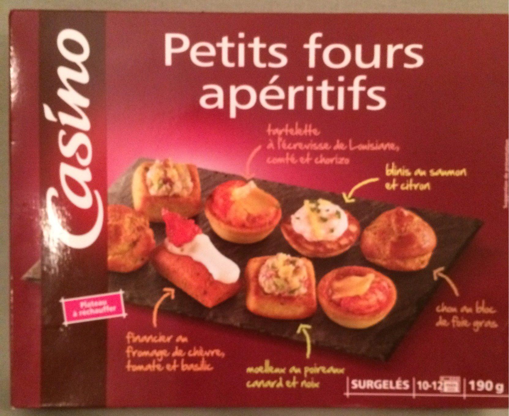 Petits fours apéritifs - Product - fr