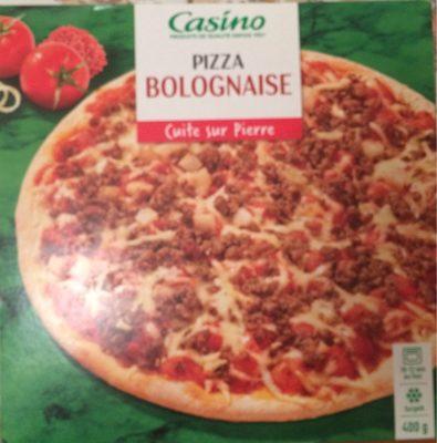 Pizza bolognaise cuite sur pierre - Product - fr