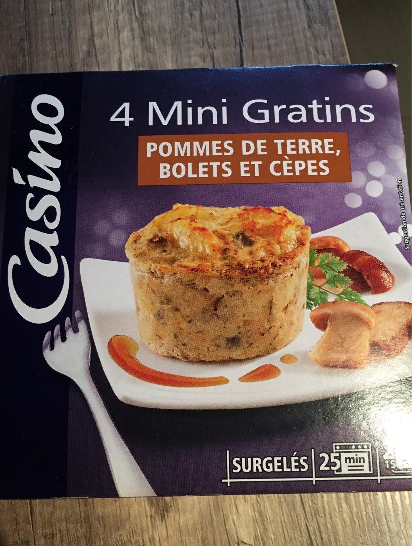 Mini gratins de pommes de terre, cèpes et bolets - Product - fr