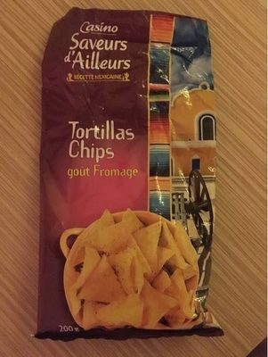 Tortilla chips goût Fromage - Product
