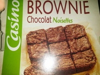 Brownie familial noisettes - Product - fr