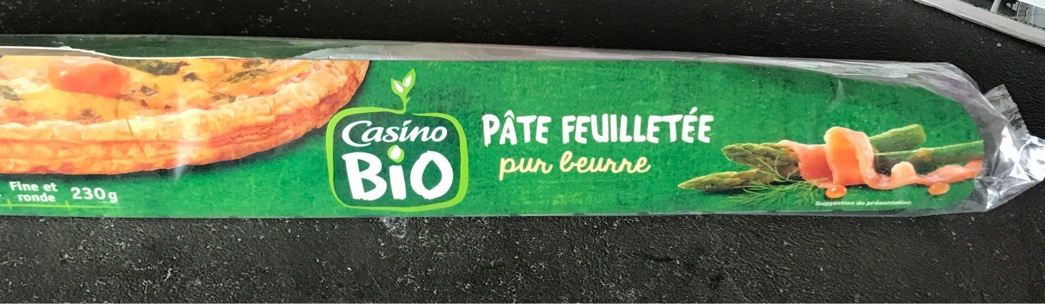 Pâte feuilletée pur beurre Bio - Product