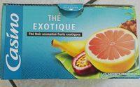 Thé exotique - Product