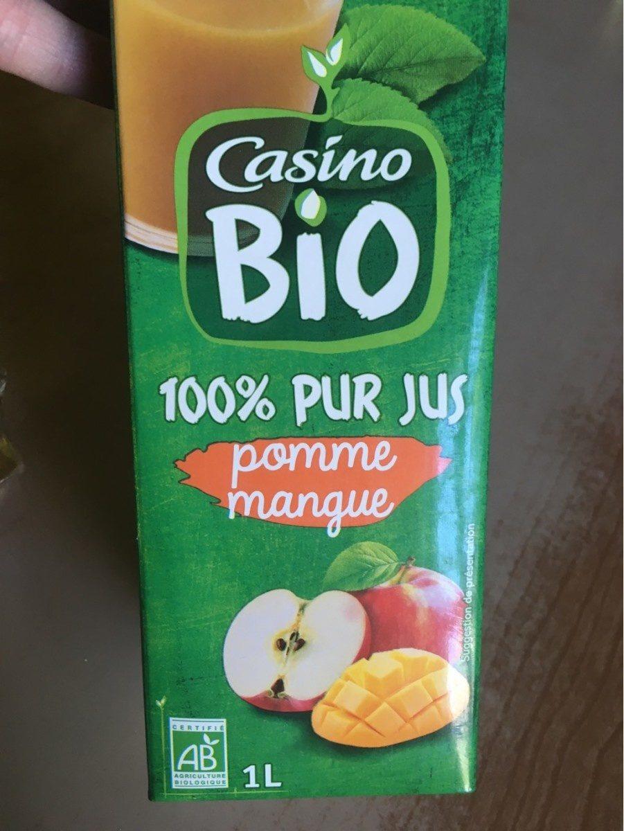 Pur Jus Pomme Mangue - Produit - fr