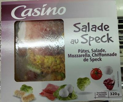 Salade crudités mozzarella jambon speck - Produit - fr