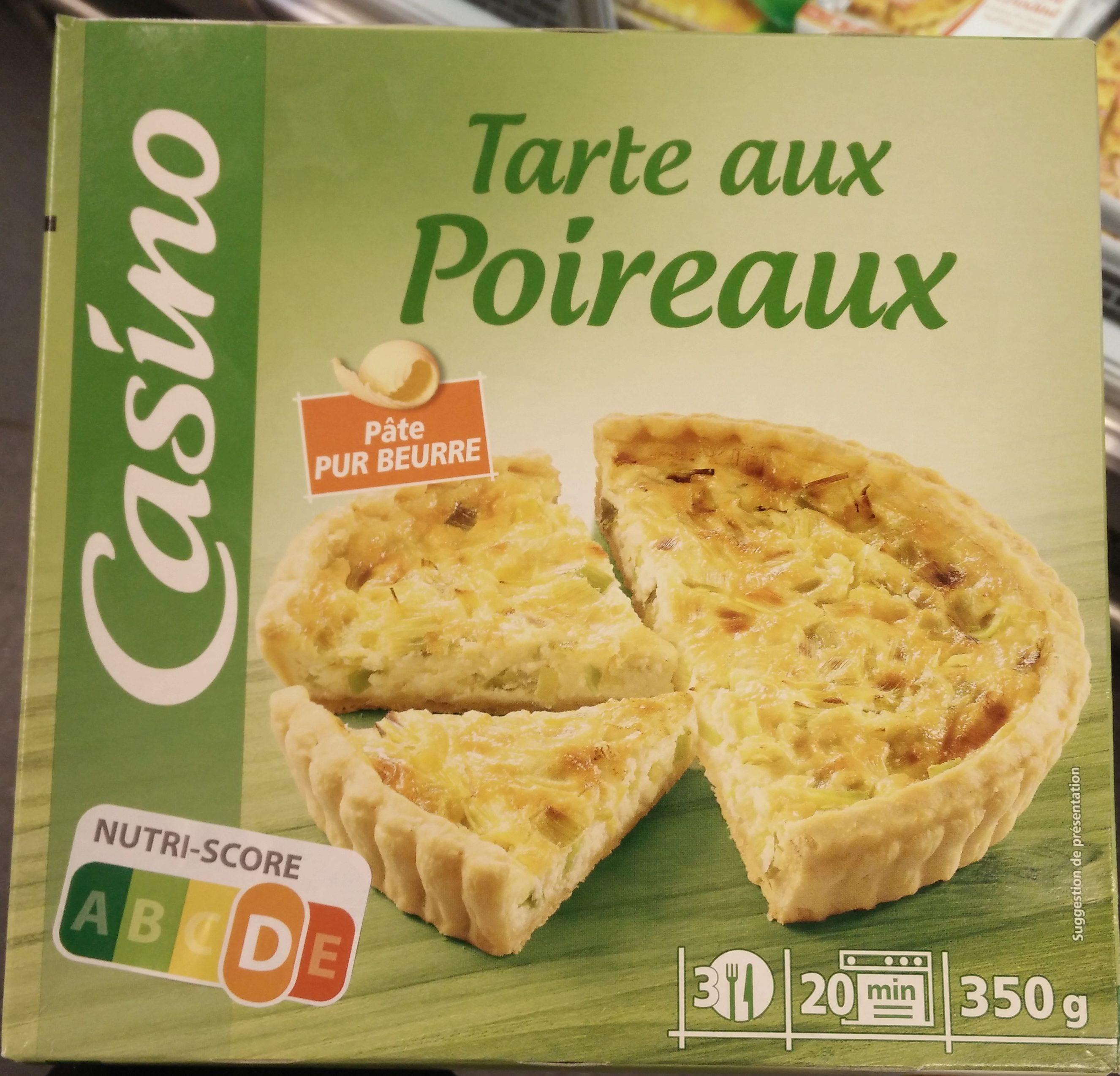 Tarte aux poireaux pâte pur beurre - Produit