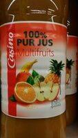 100% Pur Jus Multifruits - Produit - fr