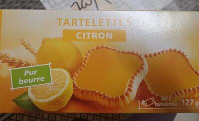 Tartelettes saveur citron - Produit - fr