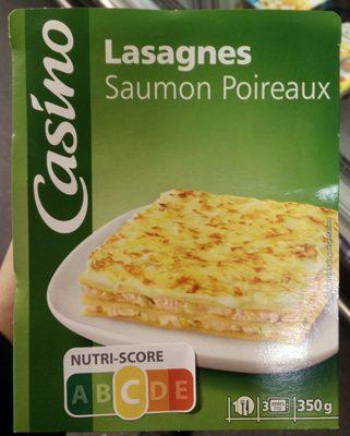 Lasagnes Saumon Poireaux - Product - fr