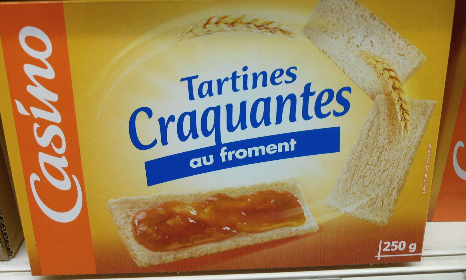 Tartines craquantes au froment - Product