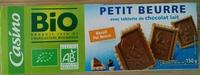 Petit beurre tablette de chocolat au lait - Product