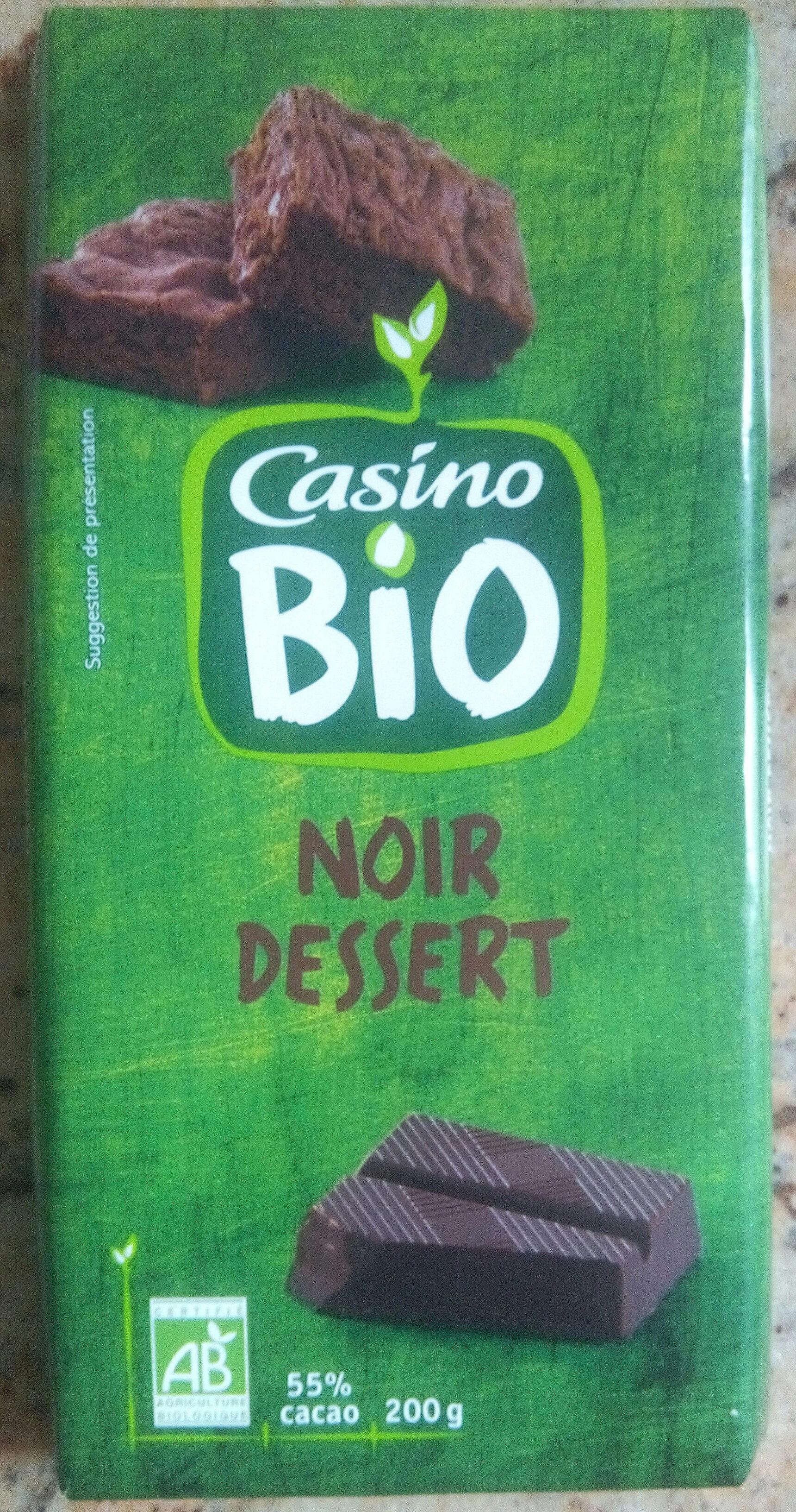 Chocolat noir dessert 55% de cacao - Product - fr