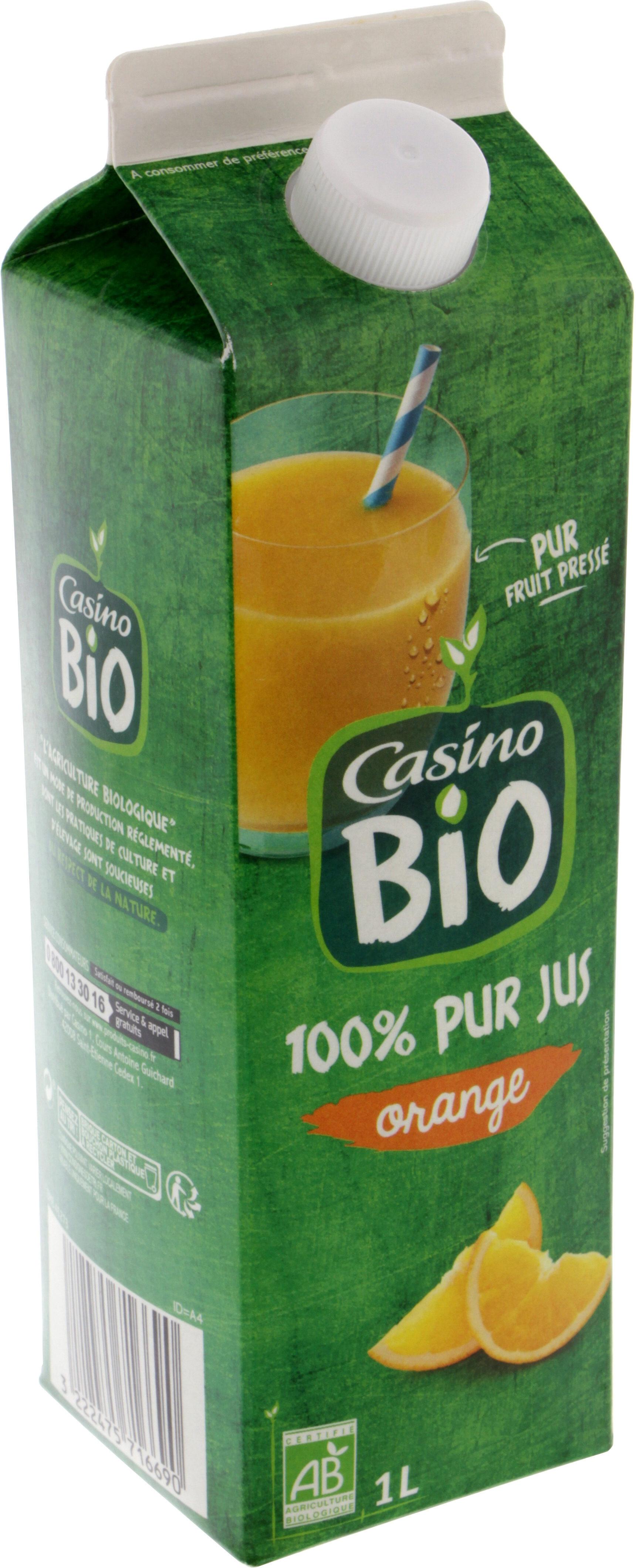 100% Pur Jus Orange BIO réfrigéré - Product