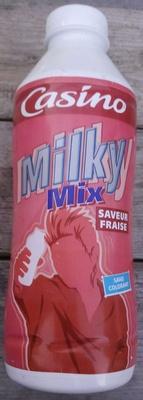 Milky Mix - Yaourt à boir saveur fraise - Product