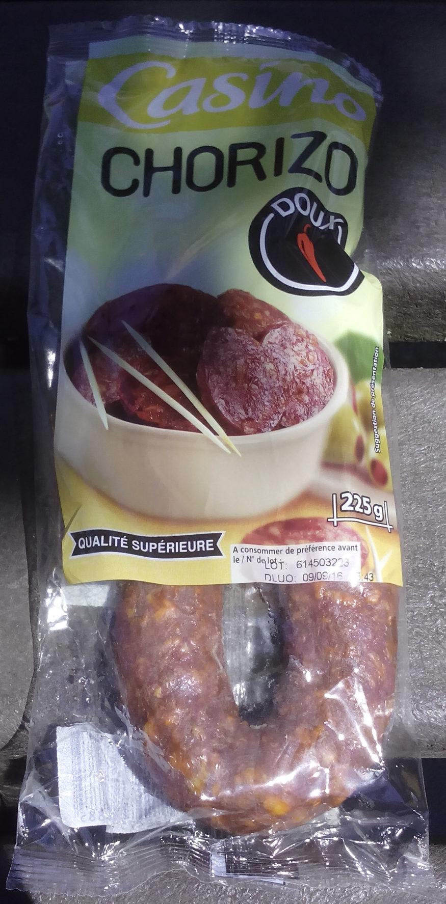 chorizo doux Qualité supérieur - Produit