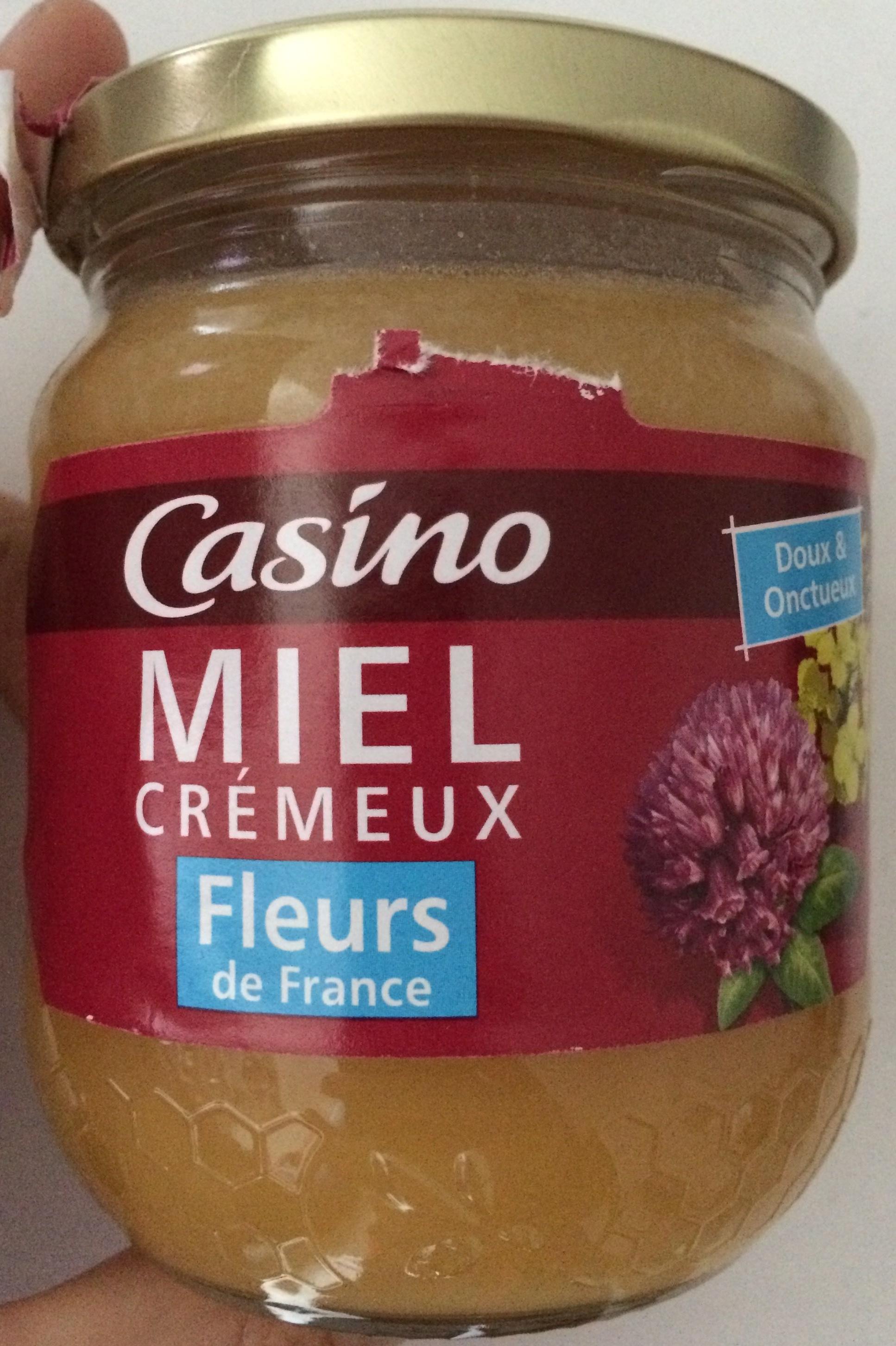 Miel de Fleurs de France Crémeux - Prodotto - fr