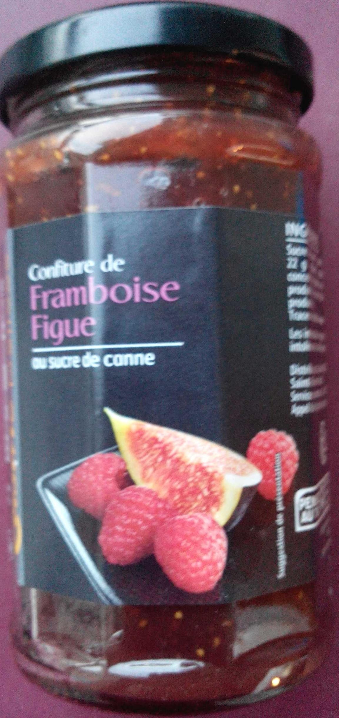 Confiture de framboise figue - Product