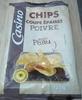 Chips coupe épaisse poivre avec peau - Produit