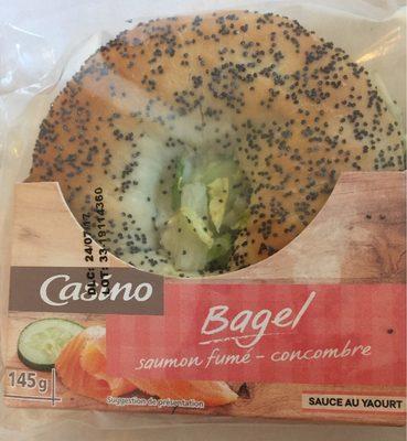 Bagel saumon fumé concombre - Product - fr
