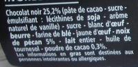 Brownie noix de pécan - Ingrediënten - fr