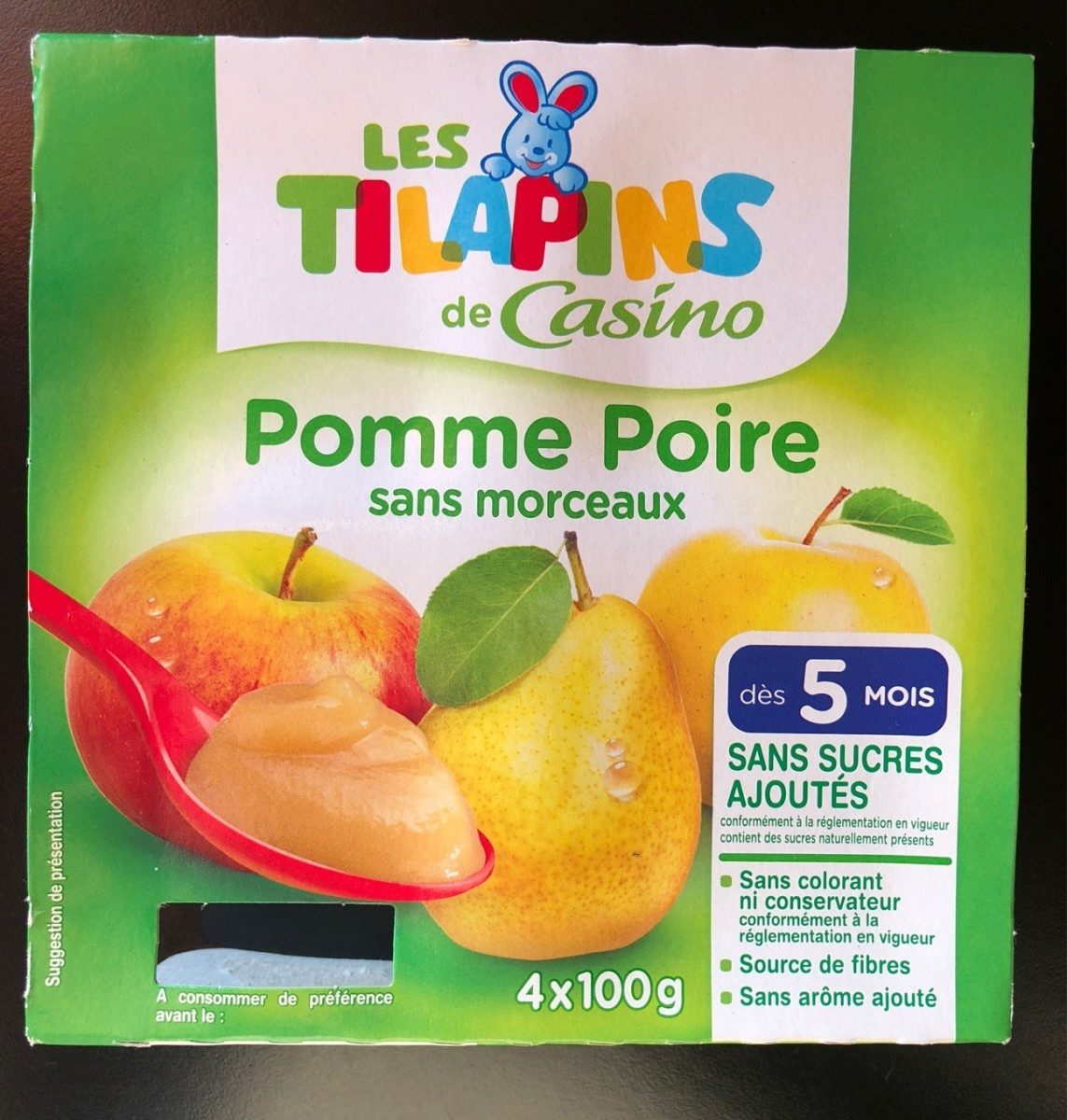 Compote pomme poire - Product