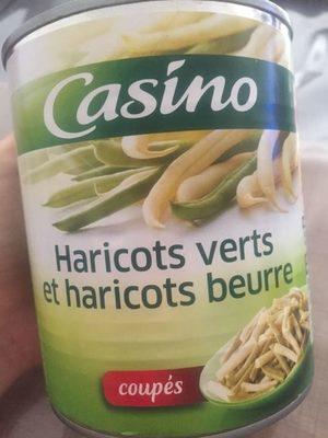 Mélange de haricots verts et de haricots beurre coupés - Product