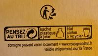 Biscuits petit déjeuner céréales et chocolat - Recycling instructions and/or packaging information - fr