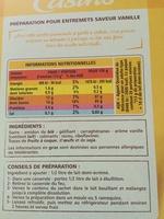 Préparation pour Flan Entremets saveur Vanille - Product