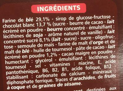 Barre Cereale - Ingrédients - fr