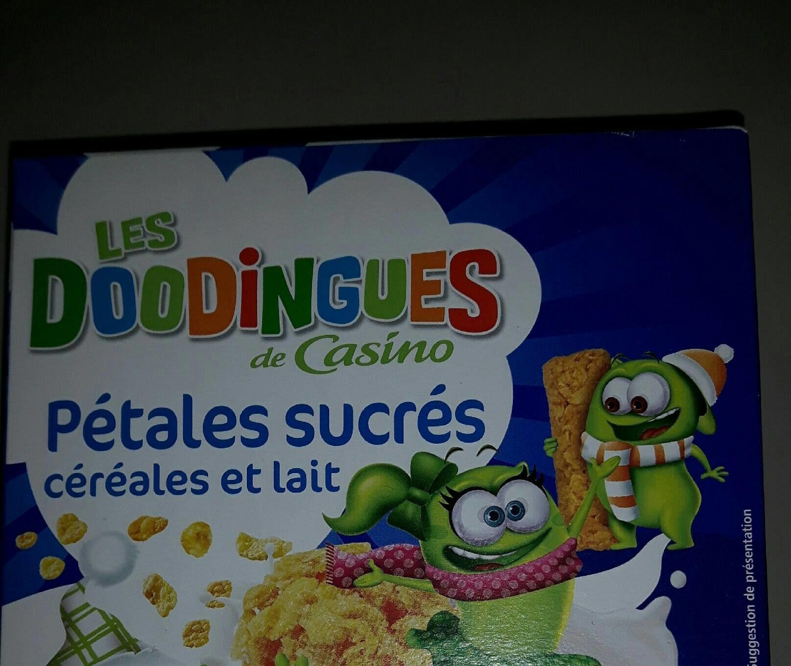 Pétales Sucrés Céréales et Lait - Product - fr