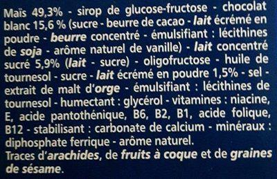 Pétales Sucrés Céréales et Lait - Ingrediënten - fr