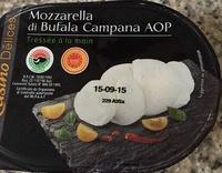 Mozzarella Di Bufala Campana AOP - Tressée à la main - Product