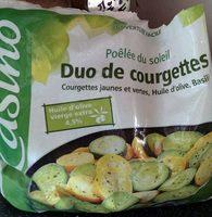 Duo de courgettes cuisinées surgelé - Product - fr