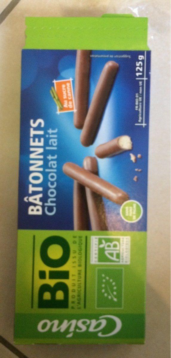 Bâtonnet au chocolat au lait BIO - Product