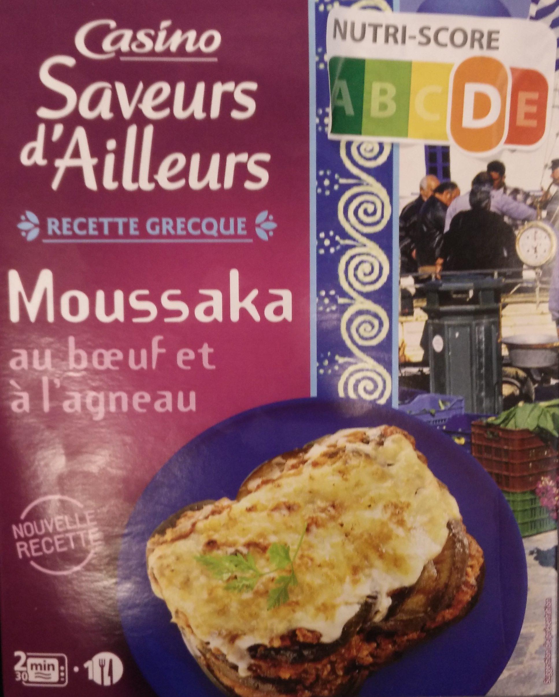 Moussaka au bœuf et à l'agneau - Produit - fr