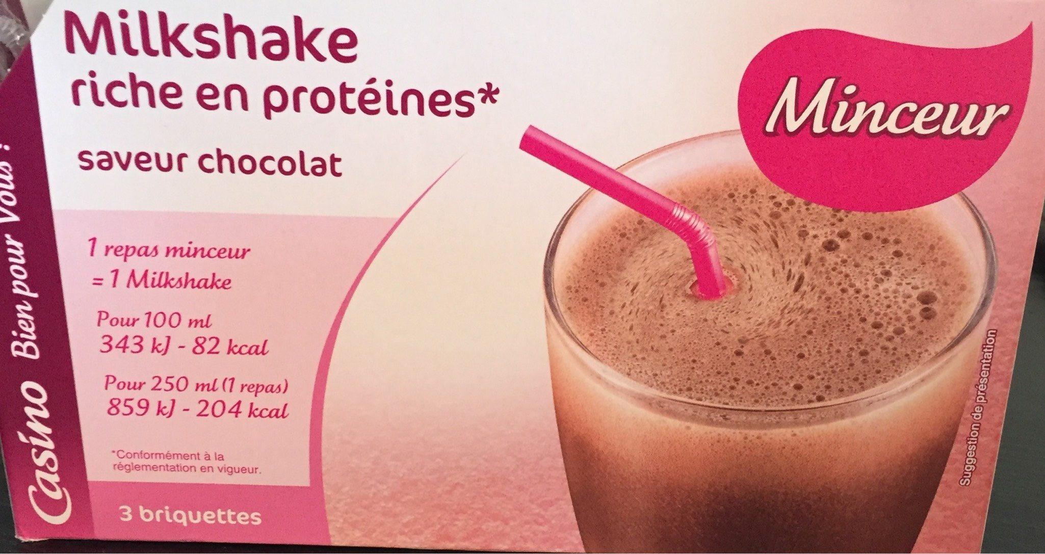 Milkshake Riche en Protéines Saveur Chocolat - Product