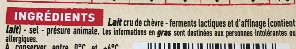Rocamadour - Ingrediënten - fr