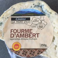 Fourme d'Ambert Appellation d'Origine Protégée - Product - fr