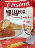 Mon moelleux saveur citron facile - Voedingswaarden - fr
