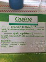 Thé vert - Aromatisé à la menthe - 25 sachets fraîcheur - Ingredienti - fr