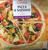 Pizza 4 saisons cuite au feu de bois - Product
