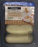 Quenelles lyonnaises nature pur beurre - Produit - fr