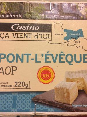 Pont l'Evèque AOP - Product - fr