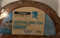Gâteau breton fourré à la crème de pruneaux pur beurre - Product - fr