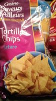 Tortillas chips nature - Product - fr