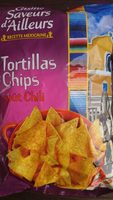 Tortillas chips gout fromage - Product - fr